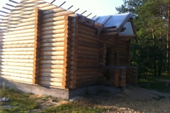 Изоляция крыши в деревянном доме
