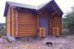 Укладка крыши в деревянном доме
