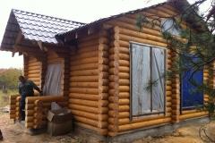 Деревянный дом процесс