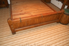 Деревянная решетка