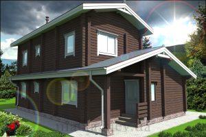 Проект жилого дома №1