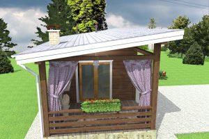 Проект бани №3