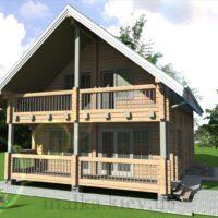 Проект жилого дома №55