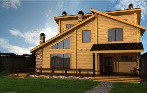 Проект жилого дома №52