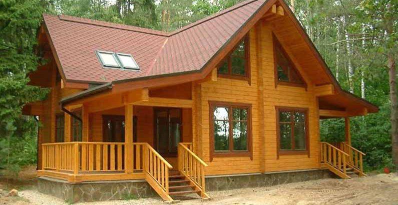 Купить дом из бруса от производителя