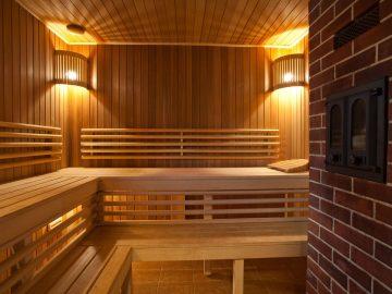 отделка бани