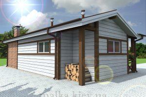 Проект бани №14