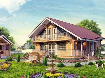 Купить деревянный дом или построить?