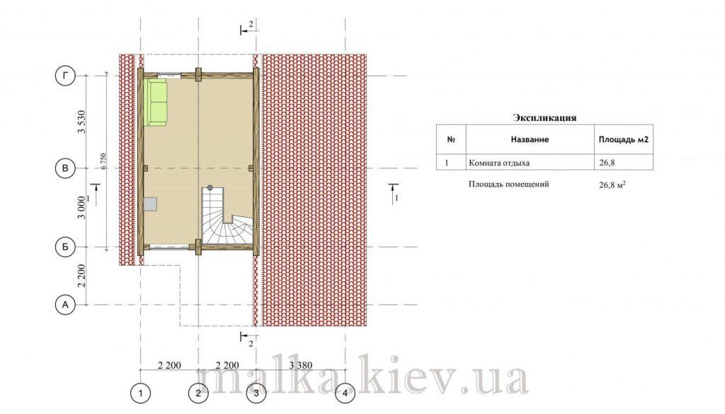 Проект бани №11