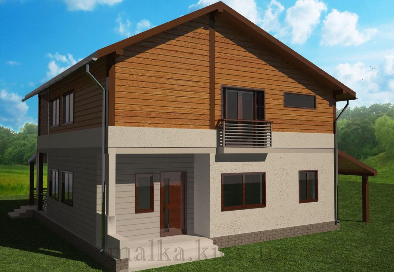 Проект жилого дома №66