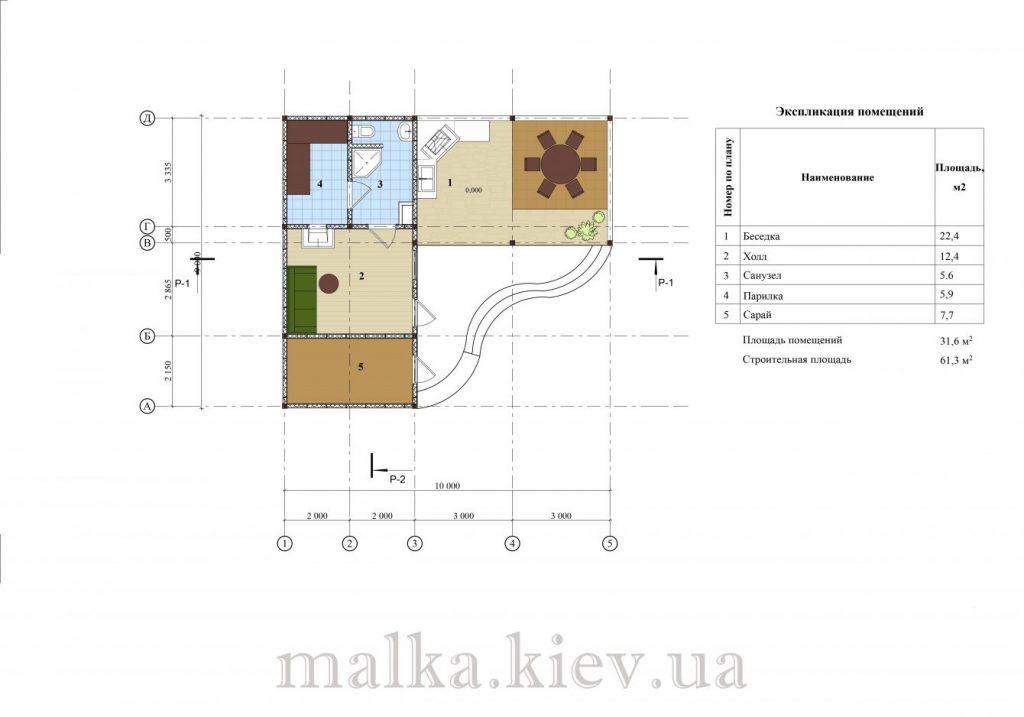 Проект бани №9