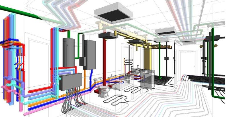 Обустройство инженерных сетей в деревянных домах
