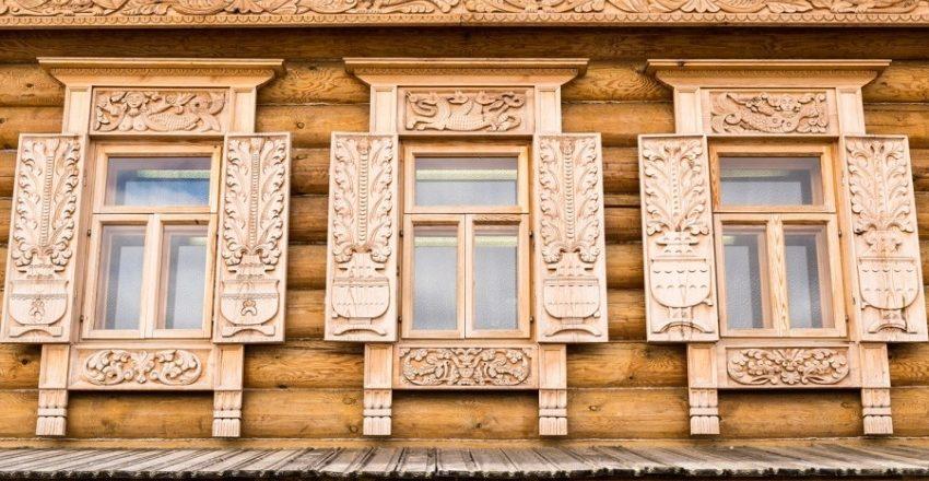 Окна для деревянных домов