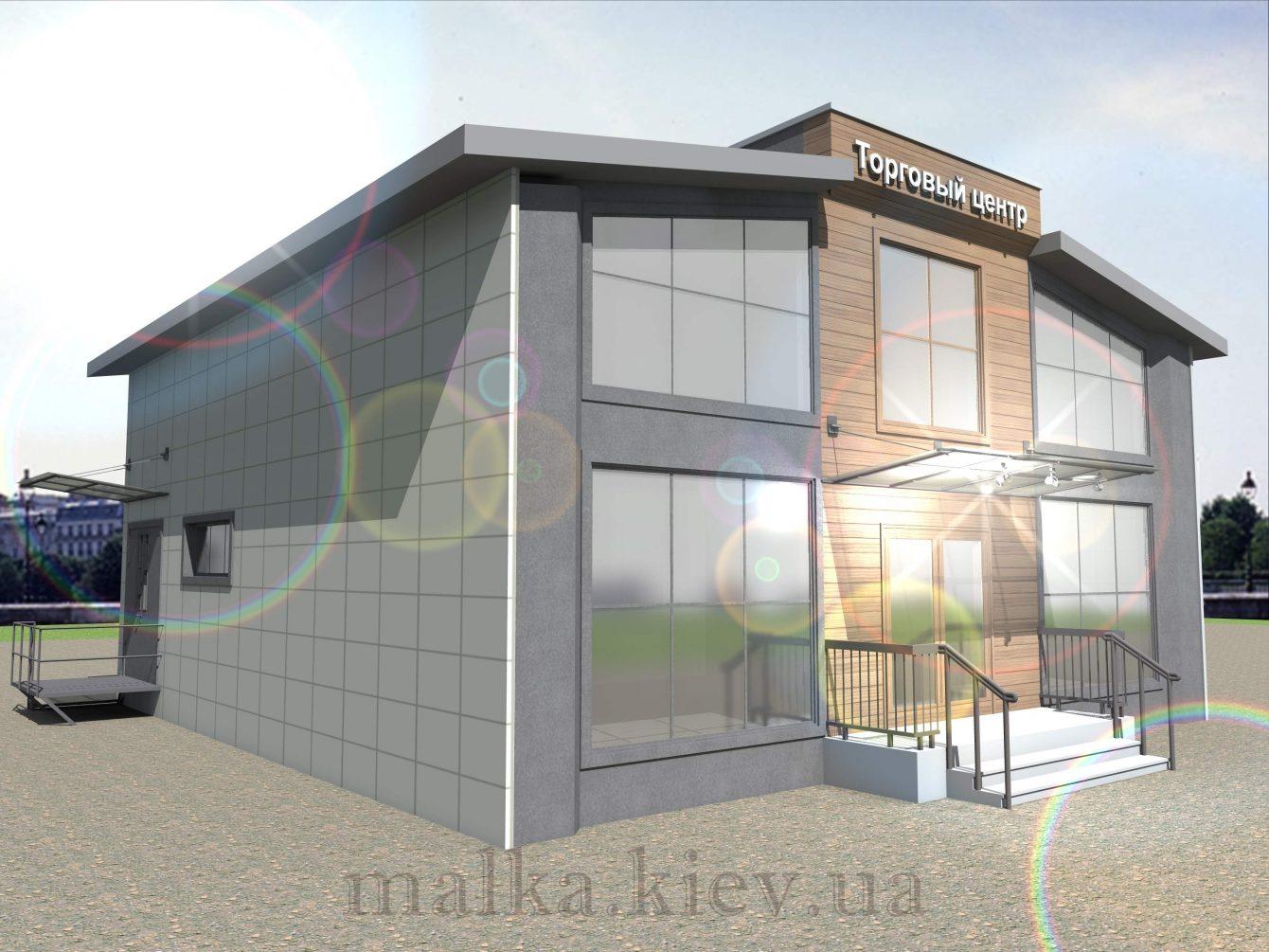 Проект торгового центра №2