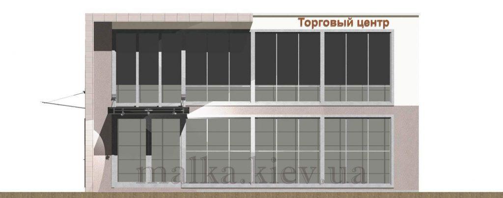 Проект торгового центра №3