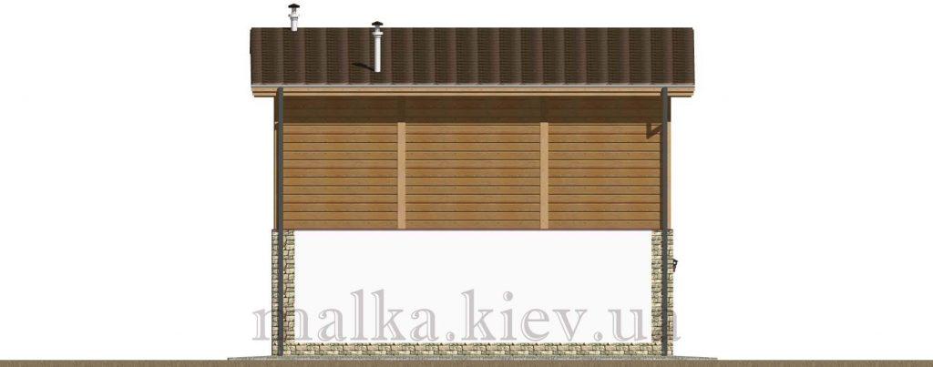 Проект бани №17