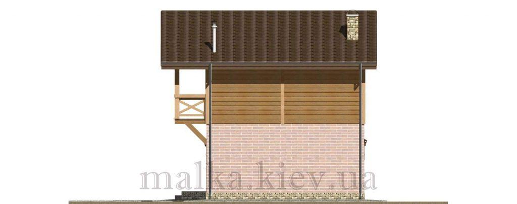 Проект бани №18