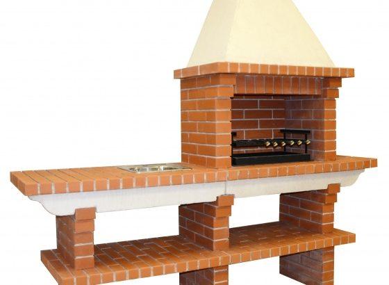 Основные этапы строительства барбекю из кирпича