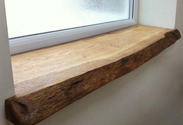 Особенности установки деревянного подоконника