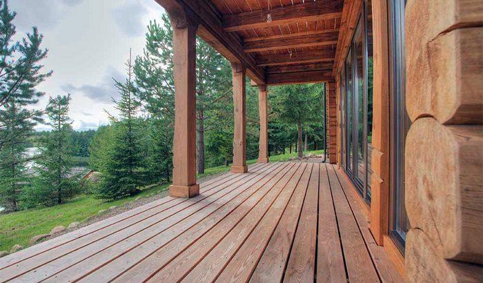Как постелить деревянный пол на террасе