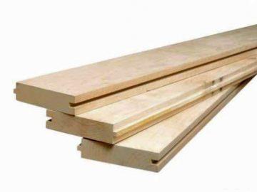 Деревянный пол из шпунтованной доски