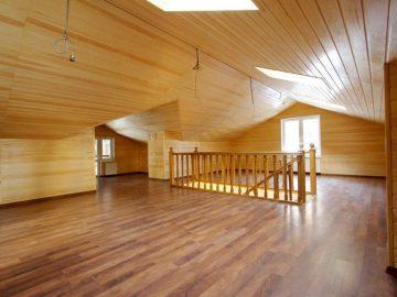 Особенности отделки стен деревянной вагонкой