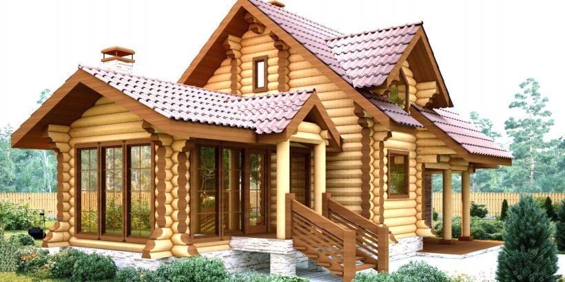 Стоимость строительства деревянных домов в Украине