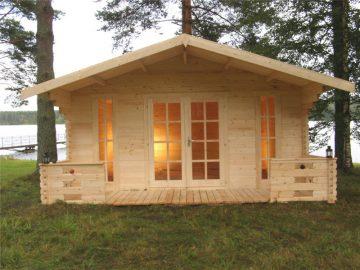 Дачный домик из древесины