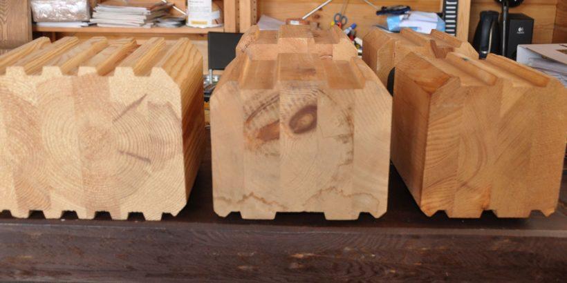 Клееный брус – идеальный материал для строительства