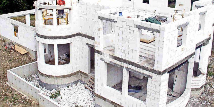 Технологии строительства домов из газоблока